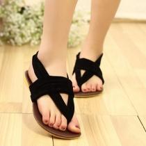 Bohemian Style Flat Heel Anti-slip Thong Sandals