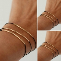 Fashion DLY Beaded Bracelet Set 3 pcs/Set