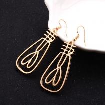 Fashion Gold-tone Alloy Earrings