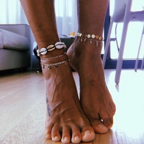 Bohemian Style Shell Anklet