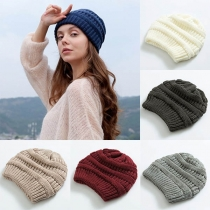 Fashion Solid Color Knit Beanies