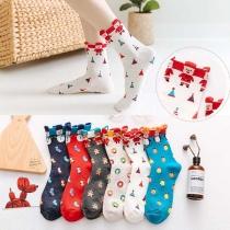 Cute Cartoon Printed Socks