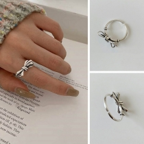 Sweet Style Bow-knot Shaped Ring