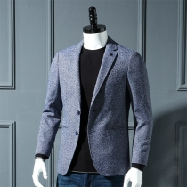 Fashion Men's Slim Suit Jacket Blazer