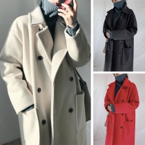 Mid-length autumn and winter coat