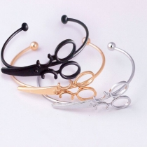 Creative Style Scissors Shaped Bracelet