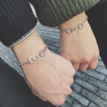 Creative Style Handcuffs Couple Bracelet