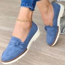 Fashion Flat Heel Round Toe Shoes