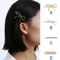 Sweet Style Bow-knot Shaped Hairpin