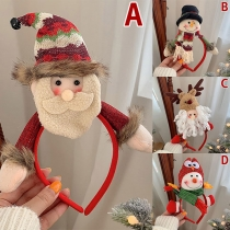 Cute Style Christmas Doll Shaped Hairband