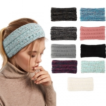 Fashion Mixed Color Knit Head-wear