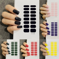 Hot Sale Waterproof Nail Sticker 5 Piece/Set