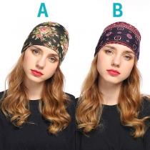 Bohemian Style Printed Headband
