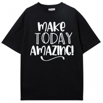 Make Today Amazing Shirt-Black Men's Shirt