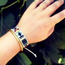 Bohemian Style Embroidery Bracelet