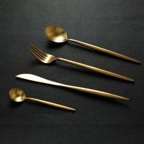 304 Stainless Steel Western Cuisine Knife & Fork Set 4 pcs/Set