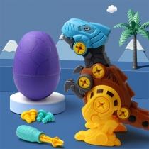 DIY Disassembly Assembly Dinosaur Eggs Toy Set for Kids Children