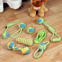 8PCS Dog Chew Toys Rope Toys for Aggressive Chewers