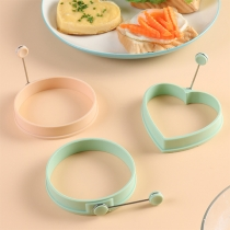 Creative Style Round/Heart-shaped Silicone Fried Egg Mould