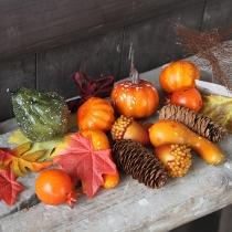 Artificial Pumpkin Decoration Set for Halloween Thanksgiving