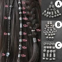 Punk Style Dreadlocks Hair Ring Hair Accessories
