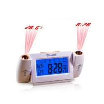 Dual Projection Led Alarm Clock with