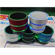 LED Flashing Bluetooth Speaker With Micro SD/TF Card For iPhone